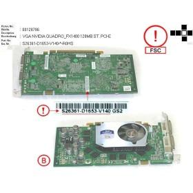 S26361-D1653-V140 Carte video Fujitsu