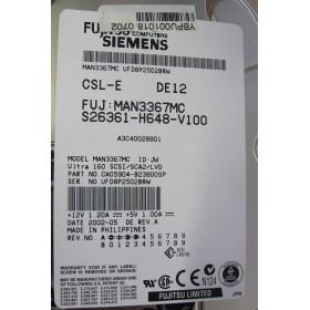 Disque dur reconditionné FUJITSU MAN3367MC