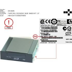 Tape Drive DAT72 HP DAT72-EB620T-250