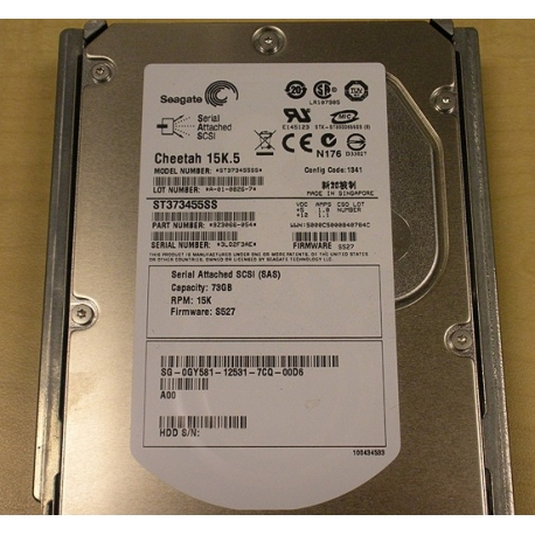 "Hard Disk DELL ST373455SS -DELL SAS 3.5"" 72 Gigas 15 Krpm"