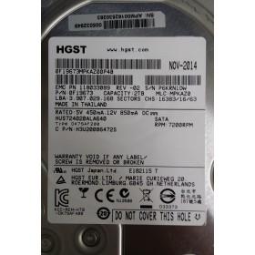 Disque Dur HITACHI SATA 3.5 7200 Rpm Gb H3V20006472S