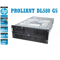 SERVER HP Proliant DL580 G5 4 x Xeon Six Core E7450 64 Gigas Rack 4U
