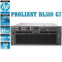 SERVER HP Proliant DL580 G7 4 x Xeon Eight Core X7560 64 Gigas Rack 4U