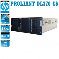 SERVIDOR HP Proliant DL370 G6 2 x Xeon Six Core X5650 16 Gigas Rack 4U