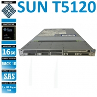SERVER SUN T5120 1 x SPARC 885 16 Gigas Rack 1U