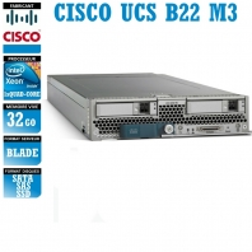 Serveur CISCO UCS B22 M3 1 x Xeon Quad Core E5-2403 SATA-SAS-SSD