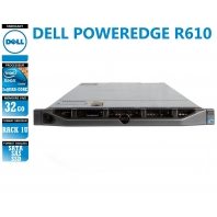 Serveur DELL Poweredge R610 2 x Xeon Quad Core E5620 SATA-SAS-SSD
