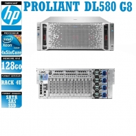 Serveur HP Proliant DL580 4 x Xeon Quad Core E7-8893 SAS-SSD