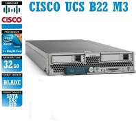 Serveur CISCO UCS B22 M3 2 x Xeon Eight Core E5-2450 SATA-SAS-SSD