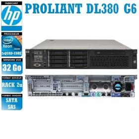 SERVER HP Proliant DL380 G6 2 x Xeon Quad Core X5550 32 Gigas Rack 2U