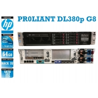 SERVER HP Proliant DL380p G8 2 x Xeon Eight Core E5-2640 V2 64 Gigas Rack 2U