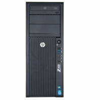 Serveur HP Workstation Z420 1 x Xeon Quad Core E5-1620 SATA - SAS - SSD
