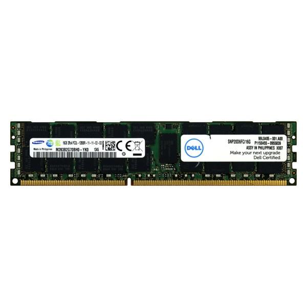 Memoire PC3L-12800R 16 Go DELL SNP20D6FC/16G
