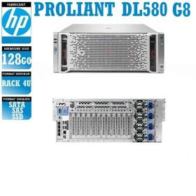 Serveur HP Proliant DL580 4 x Xeon Fifteen Core E7-4870 V2 SAS-SSD