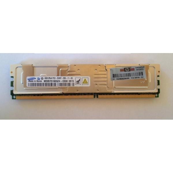 Memory HP 398708-061 4 Go (1 x 4 Go) DDR2 SDRAM DIMM 240 broches