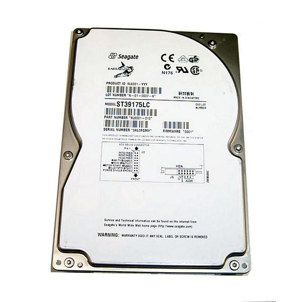 "Hard Drive SEAGATE ST39175LC SCSI 3.5"" 9 Gigas 7200 Rpm"